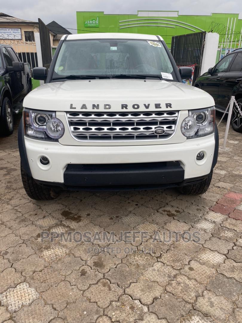 Land Rover LR4 2012 V8 White