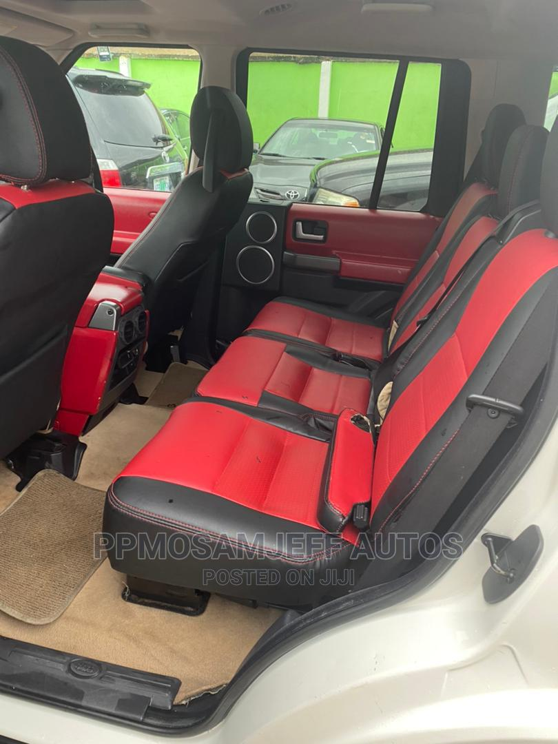 Land Rover LR4 2012 V8 White   Cars for sale in Surulere, Lagos State, Nigeria
