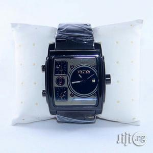 Police Square Black Chain Watch | Watches for sale in Lagos State, Lagos Island (Eko)