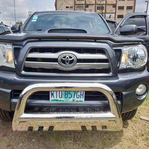 Toyota Tacoma 2010 Double Cab V6 Automatic Gray   Cars for sale in Lagos State, Ikeja
