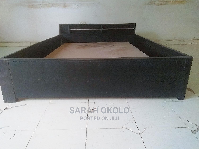 Black Bedframe for Sale | Furniture for sale in Alimosho, Lagos State, Nigeria