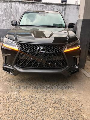 Lexus LX 2018 570 AWD Black | Cars for sale in Lagos State, Surulere