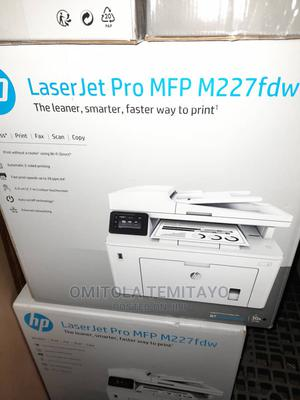 HP Laserjet PRO M227fdw MFP | Printers & Scanners for sale in Lagos State, Ikeja