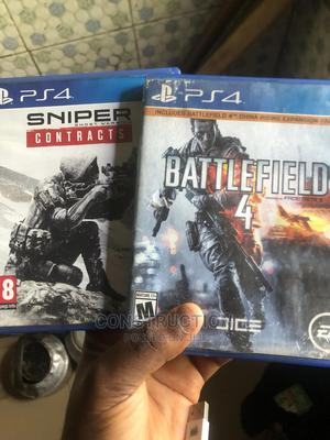 Sniper and Battlefield 4 for Swap or Sale | Video Games for sale in Edo State, Benin City