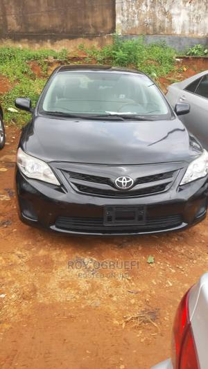 Toyota Corolla 2012 Black   Cars for sale in Lagos State, Oshodi