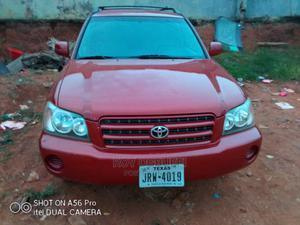 Toyota Highlander 2003 V6 AWD Red   Cars for sale in Lagos State, Oshodi