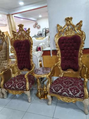 Executive Royal King Console Chairs With Coffee Table | Furniture for sale in Lagos State, Lekki
