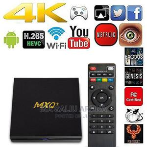 Smart Android Tv Box MXQ+ 5G 4K Ultra HD Video 32GB+4GB | TV & DVD Equipment for sale in Lagos State, Alimosho