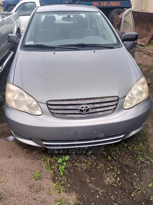Toyota Corolla 2004 Sedan Gray | Cars for sale in Oyo State, Akinyele
