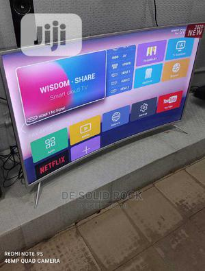 Lg 65 Inches Curved Smart TV | TV & DVD Equipment for sale in Lagos State, Ojo