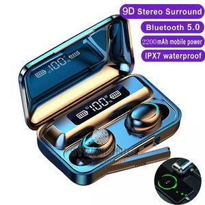 TWS Bluetooth 5.0 Earphones 2200mah Charging Box Wireless | Headphones for sale in Lagos State, Agege