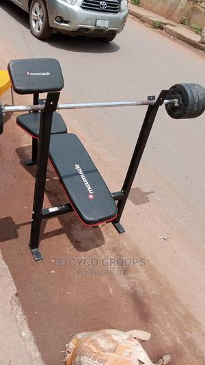 Weight Bench Maximuscle   Sports Equipment for sale in Lagos State, Alimosho