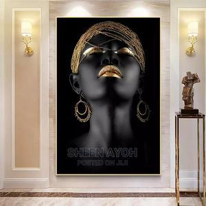 Black Girl on Art Frame Work. | Arts & Crafts for sale in Lagos State, Ajah