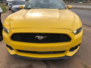 Ford Mustang 2016 Yellow | Cars for sale in Abuja (FCT) State, Jahi