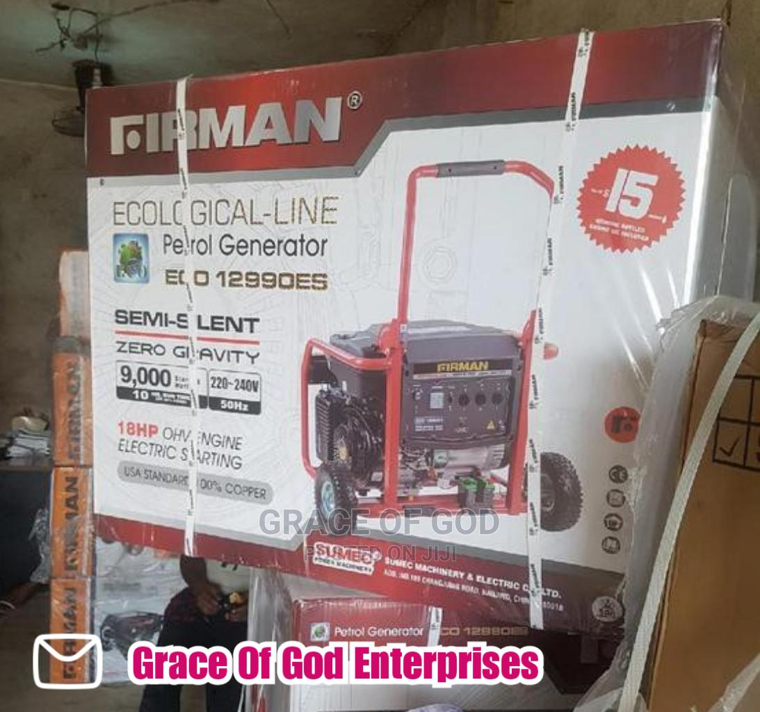 Firman ( 10kva ) Eco_12990es - Generator 100%Copper_coil   Electrical Equipment for sale in Ikeja, Lagos State, Nigeria