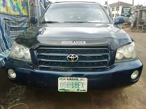 Toyota Highlander 2004 Limited V6 FWD Blue   Cars for sale in Lagos State, Ikeja