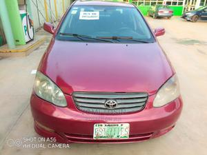 Toyota Corolla 2003 Sedan Automatic Red | Cars for sale in Lagos State, Ogba