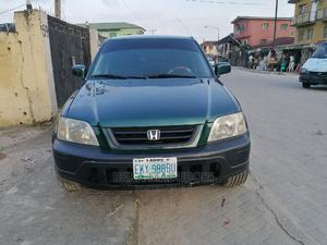 Honda CR-V 2000 2.0 Automatic Green   Cars for sale in Lagos State, Yaba