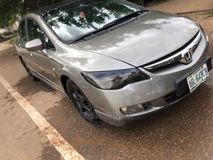 Honda Civic 2007 1.8i-Vtec VXi Automatic Gray   Cars for sale in Abuja (FCT) State, Lokogoma