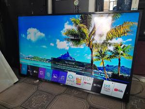 """Almost New 55"""" LG Thinq Ai Webos Uhd 4K Hdr Flat TV 2020mode 