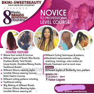 Training On Braids And Ghana Weaving And Wigs | Classes & Courses for sale in Lagos State, Yaba