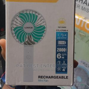 Lontor Rechargeable Mini Fan | Home Appliances for sale in Lagos State, Victoria Island