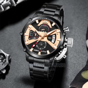 Megalith Black   Watches for sale in Lagos State, Ikeja