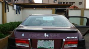 Honda Accord 2005 Automatic Red   Cars for sale in Lagos State, Ikeja