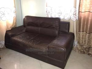 Two Seater Leather Chair. | Furniture for sale in Lagos State, Lekki