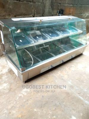 Brand New 10 Plates Food Warmer Display Showcase   Restaurant & Catering Equipment for sale in Lagos State, Ojo