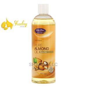 Life-Flo Pure Almond Oil Skin Care 16 FL Oz (473ml) | Skin Care for sale in Lagos State, Alimosho