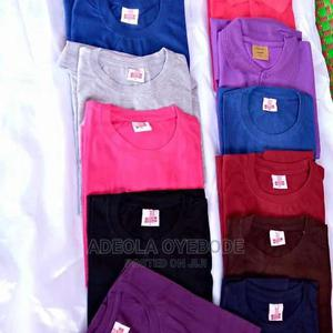 Plain Tees | Clothing for sale in Lagos State, Ojodu