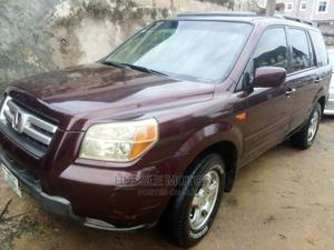 Honda Pilot 2008 EX 4x4 (3.5L 6cyl 5A) Red | Cars for sale in Lagos State, Apapa