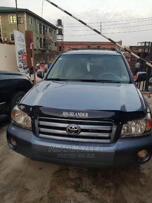Toyota Highlander 2006 Limited V6 4x4 Blue | Cars for sale in Lagos State, Surulere