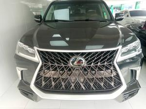 Lexus LX 2019 570 AWD Black   Cars for sale in Lagos State, Ajah