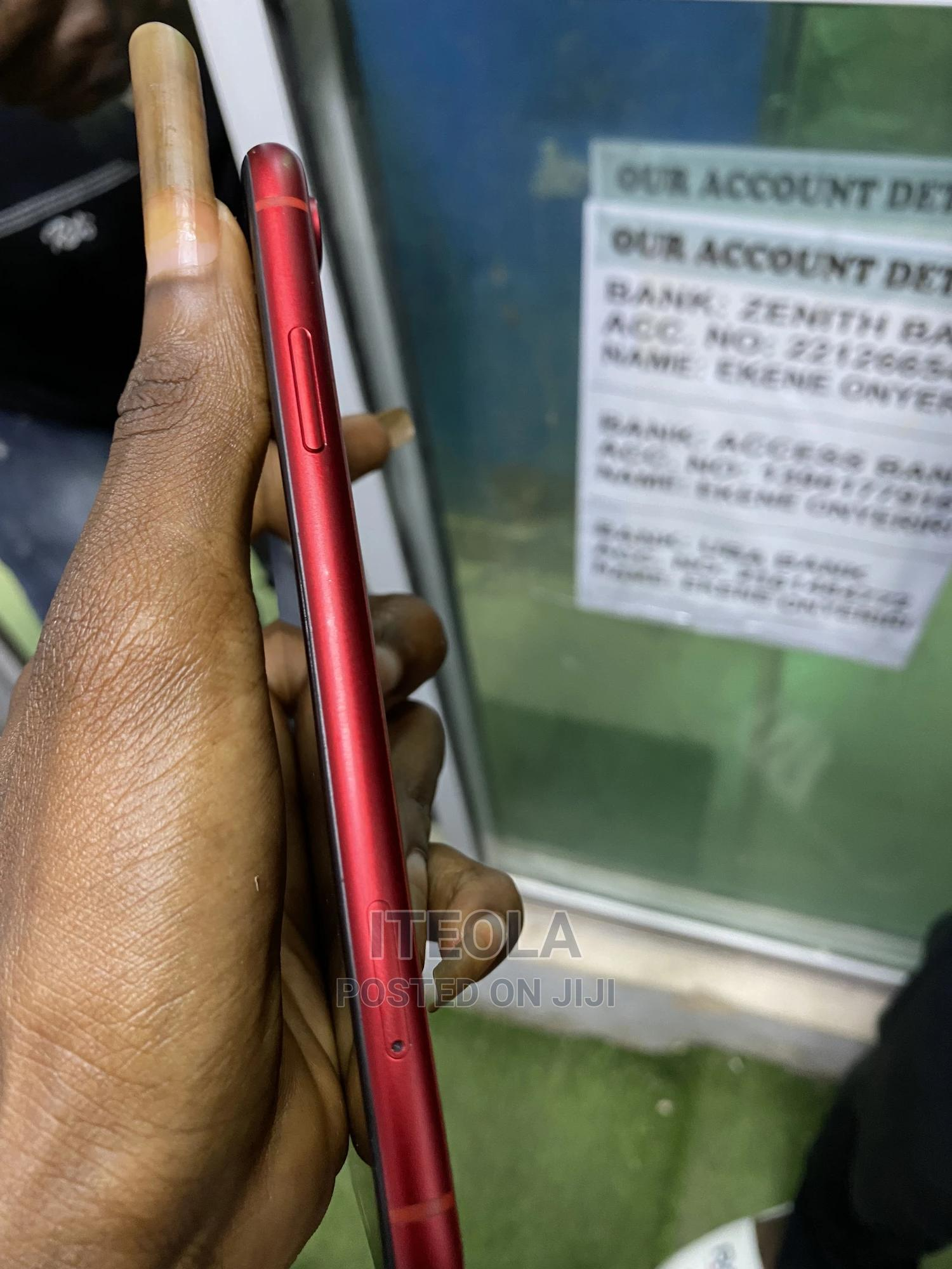 Apple iPhone XR 64 GB Red   Mobile Phones for sale in Ikeja, Lagos State, Nigeria