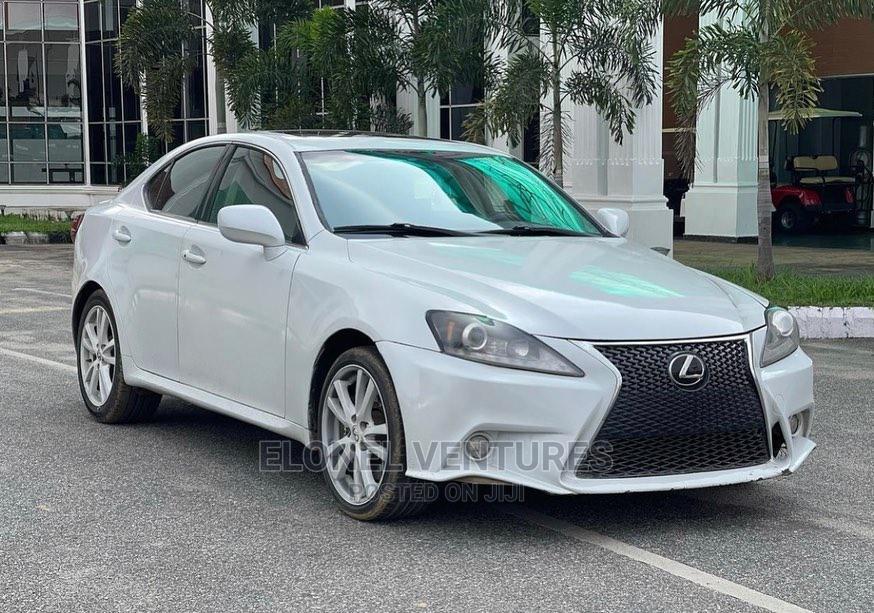 New Lexus IS 2015 White