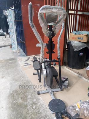 Elliptical Bike With Twister And Stepper And 4 Dumbbell   Sports Equipment for sale in Rivers State, Port-Harcourt