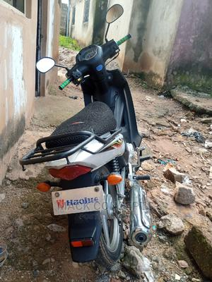 Haojue UD110 HJ110-6 2018 Silver | Motorcycles & Scooters for sale in Edo State, Auchi