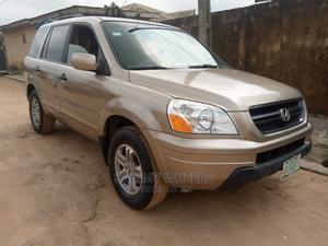 Honda Pilot 2005 Gold   Cars for sale in Lagos State, Ikorodu