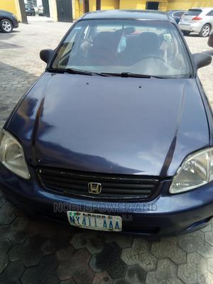 Honda Civic 1999 DX 4dr Sedan Purple   Cars for sale in Rivers State, Port-Harcourt