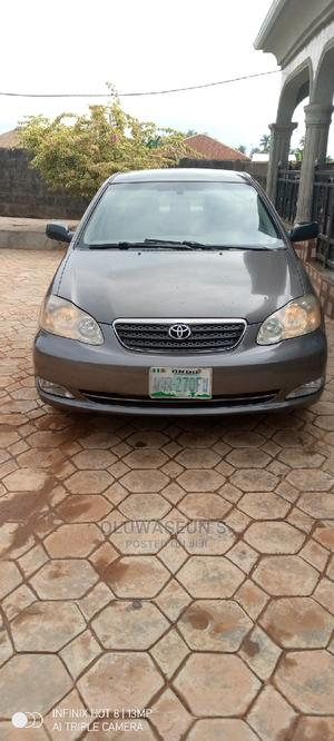 Toyota Corolla 2005 CE Gray   Cars for sale in Ondo State, Akure