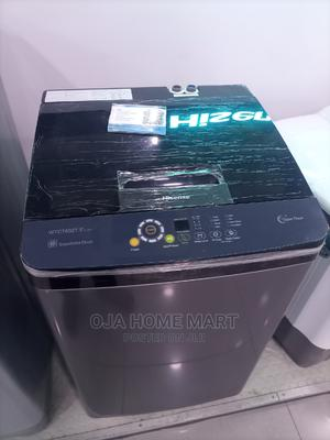 Hisense 8kg Top Load Automatic Washing Machine   Home Appliances for sale in Lagos State, Ikeja