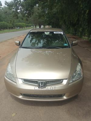 Honda Accord 2005 Sedan EX Automatic Gold | Cars for sale in Abuja (FCT) State, Central Business District