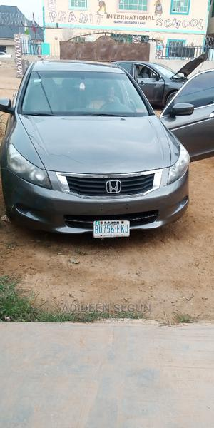 Honda Accord 2008 3.5 EX Automatic Gray | Cars for sale in Abuja (FCT) State, Bwari