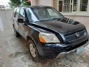 Honda Pilot 2004 EX-L 4x4 (3.5L 6cyl 5A) Black | Cars for sale in Abuja (FCT) State, Zuba