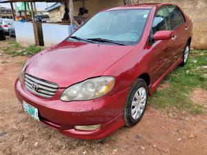 Toyota Corolla 2007 S Red   Cars for sale in Ondo State, Akure