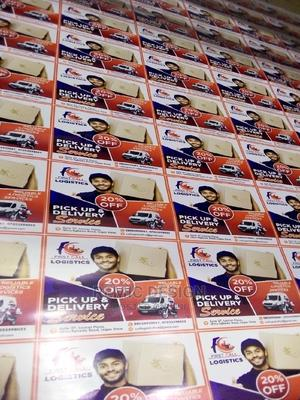 SAV/ Stickers and Flex Banner Design and Print   Computer & IT Services for sale in Lagos State, Alimosho