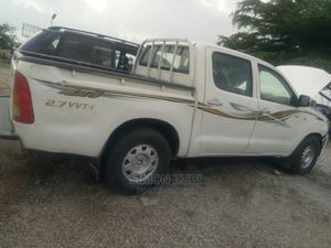 Toyota Hilux 2012 2.7 VVT-i 4X4 SRX White   Cars for sale in Abuja (FCT) State, Gwarinpa