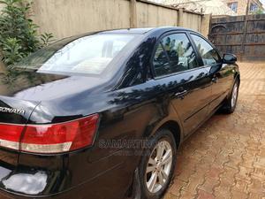 Hyundai Sonata 2009 2.4 GLS Automatic Black | Cars for sale in Lagos State, Surulere